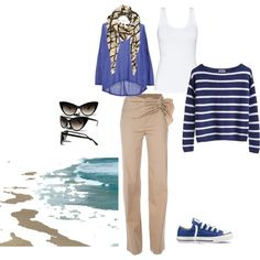 my casual, nautical spring look...