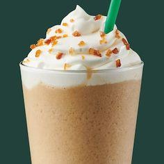 Menu: Starbucks Coffee Company Starbucks Recipes, Starbucks Drinks, Starbucks Coffee, Coffee Recipes, Caramel Iced Coffee Recipe, Protein Box, Blended Drinks, Starbucks Frappuccino, Drink Menu