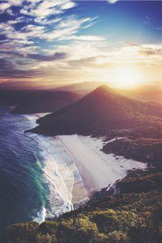 Zenith Beach, Australia. Breathtaking.
