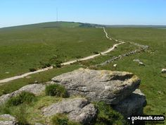 Walk Picture/View: North Hessary Tor from South Hessary Tor in Dartmoor, Devon, England by Jon Eckersall (5)