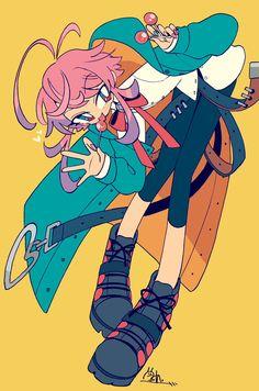 版権らくがき置き場<br>Fanarts by Kanekoshake Cute Art Styles, Cartoon Art Styles, Oc Drawings, Cute Drawings, Illustrations, Illustration Art, Another Anime, Kawaii Art, Pretty Art