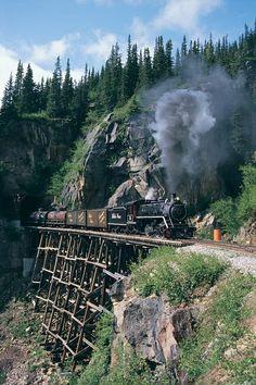 The White Pass & Yukon Route Railway - Skagway, Alaska