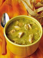 Cooked with Tomatillos for the first time a couple of weeks ago and am in love. Can't wait to try this recipe! --Chicken Tomatillo Chili--