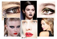 The curtain has closed on Fashion Week for another season. From glitter eyes to arty liner and neon lips, we look back at the stand-out beauty trends setting the tone for next Fall/Winter.