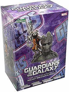 Kotobukiya Marvel Guardians of The Galaxy Rocket Raccoon Artfx Statue * Visit the image link more details.