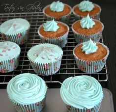 Como hacer cupcakes sin gluten...
