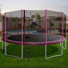 If you are searching for the ultimate family trampoline, then the Oz Trampolines 16 foot trampoline has you covered. Our largest trampoline; this beauty has superior bounce and durability, weight capacity and is big enough for the whole family to enjoy. Large Trampoline, Trampolines, Searching, Things That Bounce, Big, Outdoor, Beauty