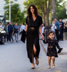 Style... Hedvig Opshsug and daughter
