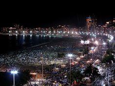AÑO NUEVO EN RIO DE JANEIRO PLAYA COPACABANA