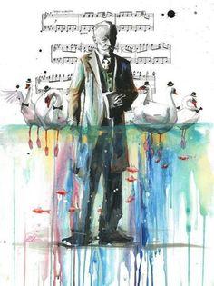 Tchaikovsky Swanlake Art