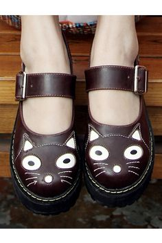 Cat Vamp Creepers - OASAP.com These have fall written all over them!!!