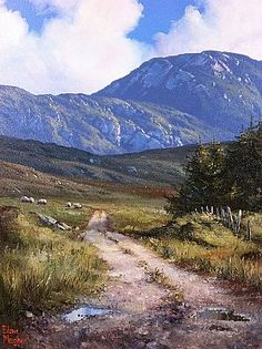 The road to Cregg Connemara by Eileen Meagher
