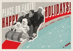 cute idea for a Christmas card - would need Photoshop