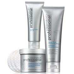 Say Goodby To Breakouts With Avon Clearskin Professionals Kit $19.99 2 Kits In Stock With PayPal Available ! www.youravon.com/amybaughman