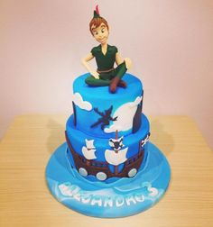 Peter+Pan+and+his+Neverland+-+Cake+by+Valeria+Antipatico