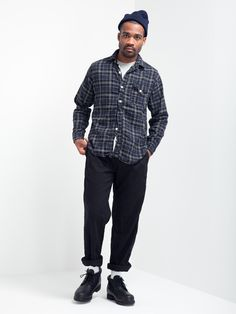 LIGHT3 SHIRT VIYELLA PLAID