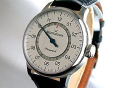 MeisterSinger Perigraph Date Silver Dial