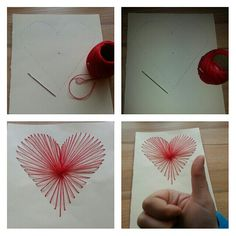 DIY heart for darling