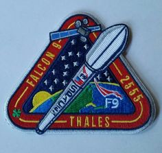 F9-17 Thales mission patch 4/27/15