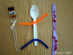 10 Extension Activities for Spoon: October VBC ~ Reading Confetti