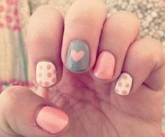 Decoración de uñas para San Valentín