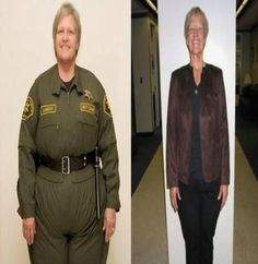 56 yrs old and lost 111 lbs! Before and After Weight Loss - Pictures of Weight Loss Before and After Women - Woman's Day Before And After Weightloss, Weight Loss Before, Fast Weight Loss, Weight Loss Plans, Weight Loss Program, Weight Loss Transformation, Healthy Weight Loss, Weight Loss Tips, Fat Fast