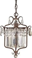 Gianna Scuro 1-Light Mini Duo Chandelier Mocha Bronze