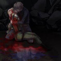 slaine troyard x princess asseylum - anime: Aldnoah Zero