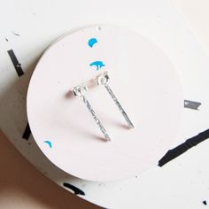 KIND Collection - Silver Horizon Earrings.