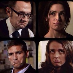 Finch, Shaw, Root, Reese - Person Of Interest
