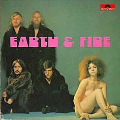 Earth and Fire Lp Cover, Vinyl Cover, Rock Album Covers, Rock Cover, Pochette Album, Rock Groups, Progressive Rock, Best Albums, Blues Rock