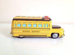 School Bus- RM25 | The Tinmen-online vintage tin toy store