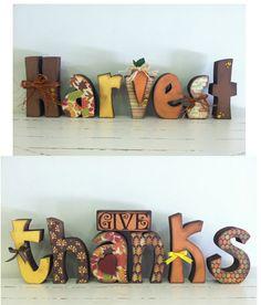 Fall Harvest and Thanksgiving blocks