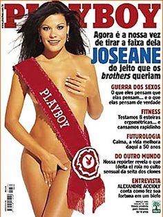 Joseane de Oliveira posou para a 'Playboy' em Março de 2003