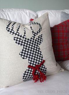 Buffalo Check Christmas Decor Ideas - Lolly Jane