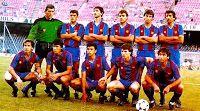 F. C. BARCELONA - Barcelona, España - Temporada 1985-86 - Amador, Manolo, Moratalla, Fradera, Salva y Alexanco; Tente Sánchez, Amarilla, Nayim, Pedraza y Esteban - F. C. BARCELONA 2 (Amarilla, Alexanco) REAL BETIS BALOMPIÉ 0 - 14/06/1986 - Copa de la Liga, final partido de vuelta - Barcelona, Nou Camp - El Barcelona, que había perdido 1-0 en Sevilla, gana su primera Copa de la Liga de 1ª División Fc Barcelona, Barcelona Football, Coaching, Wrestling, Soccer, World, Football Team, Team Building, Champs