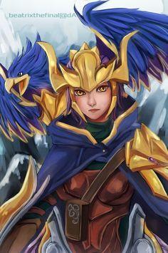 League of Legends: Quinn and Valor by BeatrixTheFinal on DeviantArt
