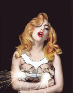 Picture of Lady Gaga — HQ, picture of the time photoshoot! credits to the fame gallery ! :D