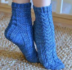 Ravelry: Samwise Socks pattern by Claire Ellen