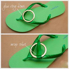 10 DIY Flip Flops Ideas - Fashion Diva Design