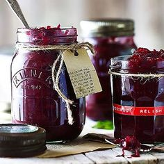 Beetroot+Relish - from Lakeland Beetroot Chutney Recipe, Beetroot Relish, Beetroot Recipes, Relish Recipes, Chutney Recipes, Jam Recipes, Canning Recipes, Curry Recipes, Recipies