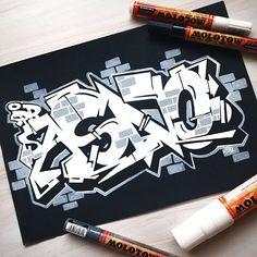 asno dancin'. #projectburnerz #sketchbook #graffiti #illustration #stylewriting #bombingscience #molotowpremium #uniposca #wildstyle #urbanart #kunst #blackandwhite #thurday