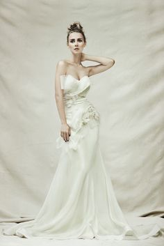 Pallas Couture wedding gown.