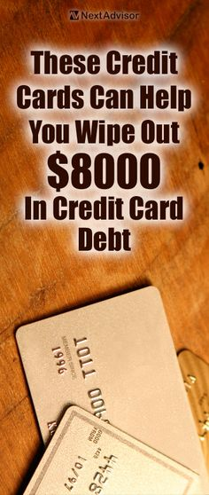 Stuck with credit card debt? Check out NextAdvisor to see the fastest way to pay off $8000 in credit card debt and finally be debt free!