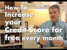 Credit Score Tips, How to increase your, Credit Score, every month for f...