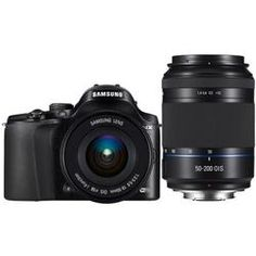 Samsung NX20,  THE camera for wireless photo sharing and smart phone connectivity. Not to mention, super fast with great image quality!