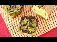 HALLOWEEN Frankenstein Matcha Green Tea Pound Cake ハロウィン 抹茶パウンドケーキ