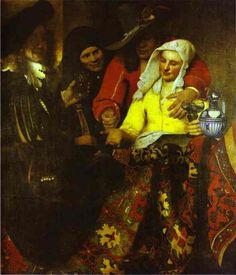 The Procuress by Johannes Vermeer