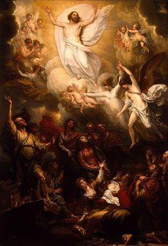 Benjamin West. The Ascension. 1801.