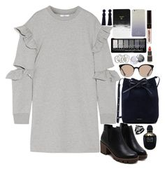"""""""❤"""" by polinachaban ❤ liked on Polyvore featuring Steve J & Yoni P, Denik, Balenciaga, Kate Spade, Mansur Gavriel, Alexander McQueen, Georgia Perry and Kendra Scott"""
